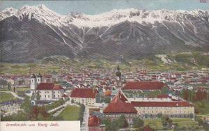 Panorama, Innsbruck Vom Berg Jsel, Tyrol, Austria, 1900-1910s