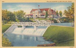 DALLAS , Texas , 1930-40s ; Dallas Country Club