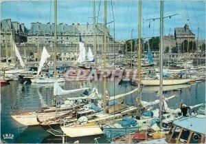 Modern Postcard Saint Malo Cite Corsaire The Chataeu Remparts Le Bassin des Y...
