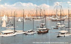 New York Fleet at AnchorMarblehead , Massachusetts