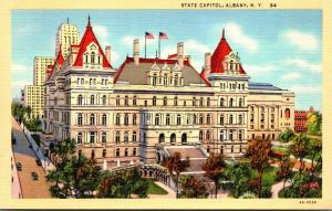 New York Albany The State Capitol Building Curteich