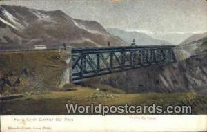 Ferrocarril Central Del Peru, Peru Puente de Viscas  Puente de Viscas