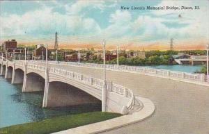 Illinois Dixon New Lincoln Memorial Bridge 1943
