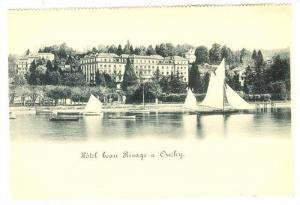 Hotel beau Rivage a Ouchy , Switzerland, 1890s