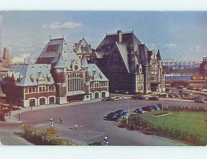 Pre-1980 TOWN VIEW SCENE Quebec City QC p9505