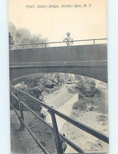 Unused Divided-Back POSTCARD FROM Watkins Glen New York NY HM6225