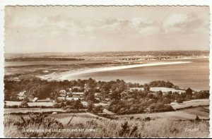 Dorset; A View From The Hills, Studland Bay RP PPC, 1961, To Henwood, Edgbaston