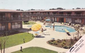 Swimming Pool, Continental Garden Motel, REDWOOD CITY, California, 40-60´