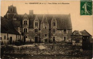 CPA CHAMPIGNE Vieux Chateau de la Hamoniere (606527)