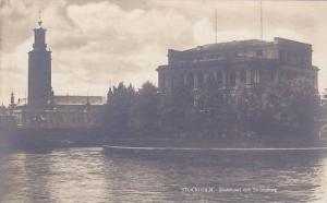 RP, Stadshuset Och Stromsborg, Stockholm, Sweden, 1910-1920s