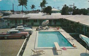 Florida West Palm Beach The Princess Motel Swimming Pool 1961