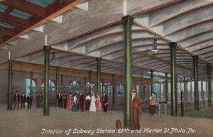 PHILADELPHIA , Pa. , 1900-10s ; Subway Station, 69th & Market Street