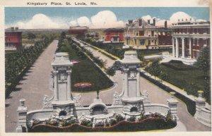 ST. LOUIS, Missouri, 1917; Kingsbury Place