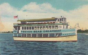 MIAMI , Florida, 1930-1940s ; Seven Seas Dreamboat
