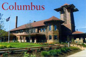 OH - Columbus. Toledo & Ohio Central Railroad Station