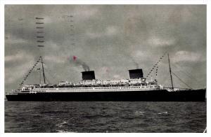 S.S. Liberte  French Line Compagnie Genearale Transatlantique