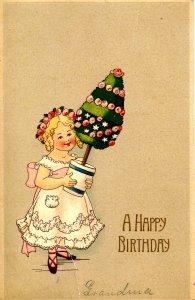 Greeting - Birthday                                     (crease, tear)