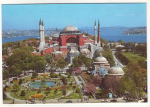 P598 JLs vintage istanbul turkey st sophia museum birds eye view
