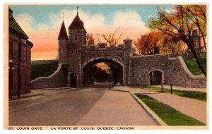 Canada Quebec St. Louis Gate