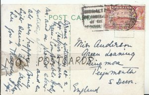 Genealogy Postcard - Anderson - Ringmore - Teignmouth - South Devon - Ref 9380A