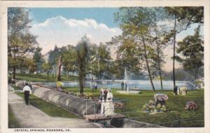 Virginia Roanoke Crystal Springs