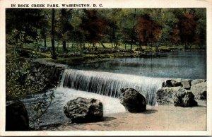 Vtg 1920s Rock Creek Park Washington DC Unused Postcard