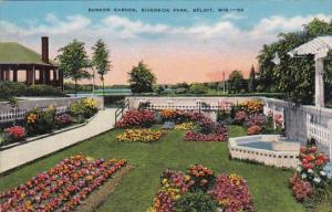 Wisconsin Beloit Sunken Garden Riverside Park