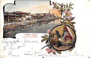 Port Said Egypt, Egypte, Africa Quai Port Said Quai