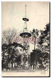 Old Postcard Arcachon Belvedere