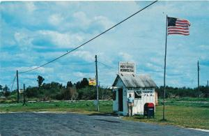 Smallest Post Office in US Ochopee Florida between Fort Myers and Miami Roadside