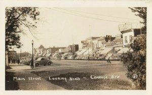 RP: CAMROSE , Alberta , Canada , 1930s ; Main Street Looking North