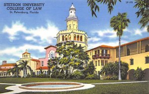 Stetson University College of Law St Petersburg FL