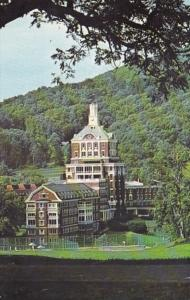 Virginia Hot Springs The Homestead Showing Tennis Courts