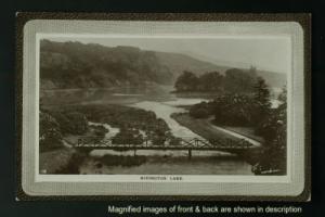 Rivington lake , Bolton  postmarked Horwick 1913
