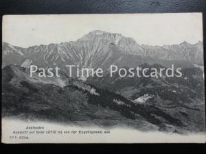 c1909 - Adelboden, Aussicht auf Gsur (2712m) von der Engstligenalp - Switzerland