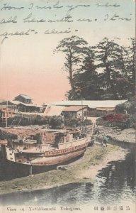 YOKOHAMA , Japan , 1907 ; View of Yoshidamachi