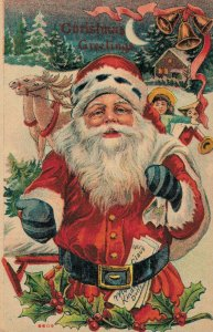 Christmas Greetings Santa Claus 03.64