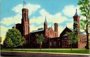 Vtg Smithsonian Institution Washington DC Chrome Postcard