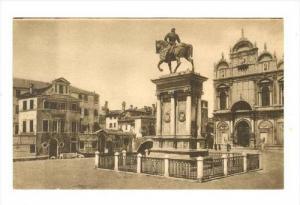 The Monument Of Bart. Colleoni, Venezia (Veneto), Italy, 1900-1910s
