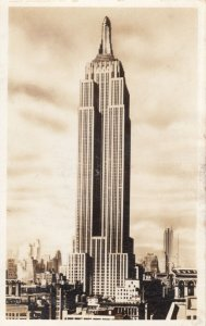 RP: NEW YORK CITY , 1930s ; Empire State Building