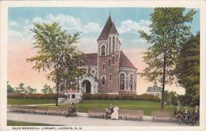 New Hampshire Laconia Gale Memorial Library
