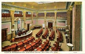 UT - Salt Lake City. Utah State Capitol, House of Representatives