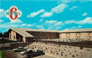 Idaho Falls Idaho~Motel 6~West Broadway~1970s Cars~Postcard