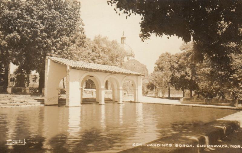 RP; CUERNAVACA, Morelos, Mexico, 30-50s; Jardines Borda