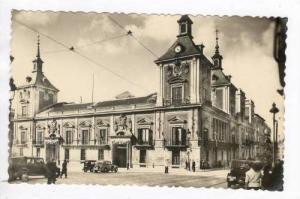 Rp Madrid, Spain, PU 1940s Street view of church