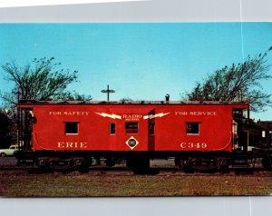 Trains Erie Railroad Modern All Steel Caboose