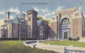 Pennsylvania Bethlehem The Masonic Temple