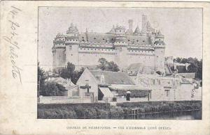 France Pierrefonds Chateau Vue D'Ensemble Cote Cote Ouest 1904