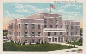 Texas Temple Municipal Building 1943 Curteich