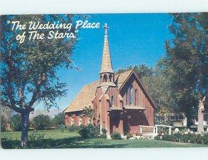 Pre-1980 WEDDING CHURCH OF THE STARS Las Vegas Nevada NV AD0478